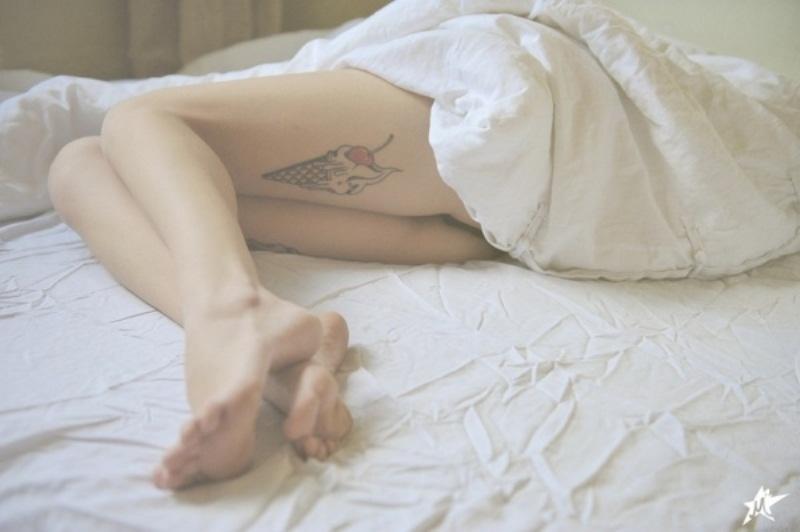 Трупы спящих девушек