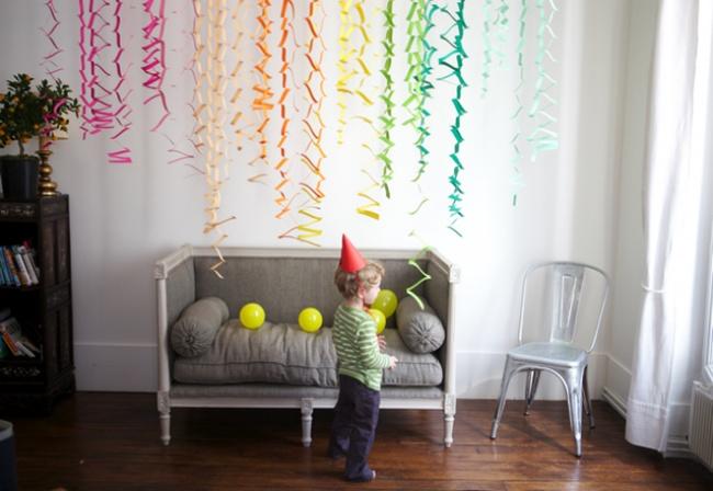 Как украсить комнату своими руками к новому году фото