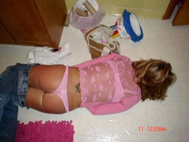 Что творят с пьяными в отключку девками русскими