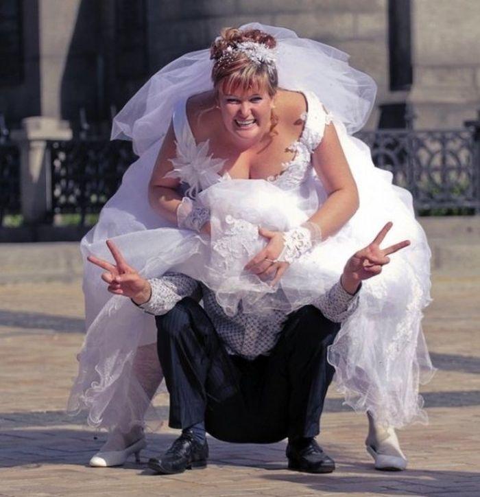 невеста и фото жених прикольные