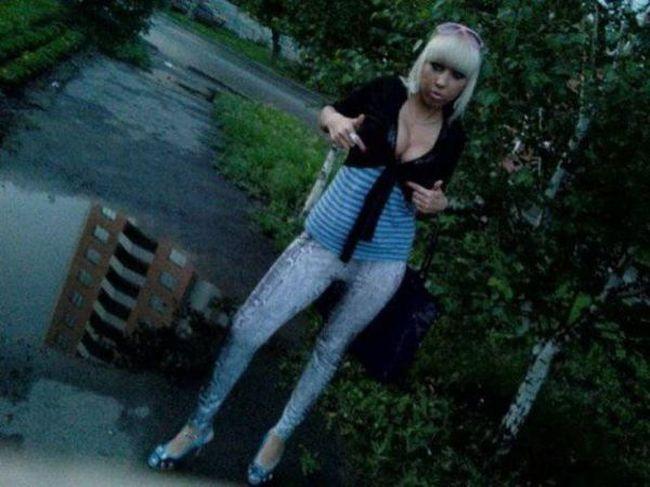 в деревне девушки фото