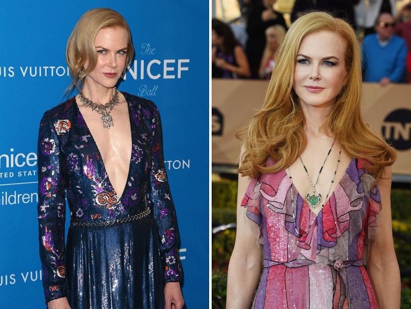 12 January 2016 - Beverly Hills, California - Nicole Kidman. Sixth Biennial UNICEF Ball held at the Beverly Wilshire Four Seasons Hotel.  CAP/AdMedia/SAM ©SAM/AdMedia/Capital Pictures