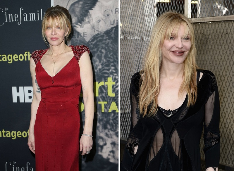 """21 April 2015 - Hollywood, California - Courtney Love. HBO """"Kurt Cobain: Montage Of Heck"""" Los Angeles Premiere held at The Egyptian Theatre. Photo Credit: F. Sadou/AdMedia Photo via Newscom"""