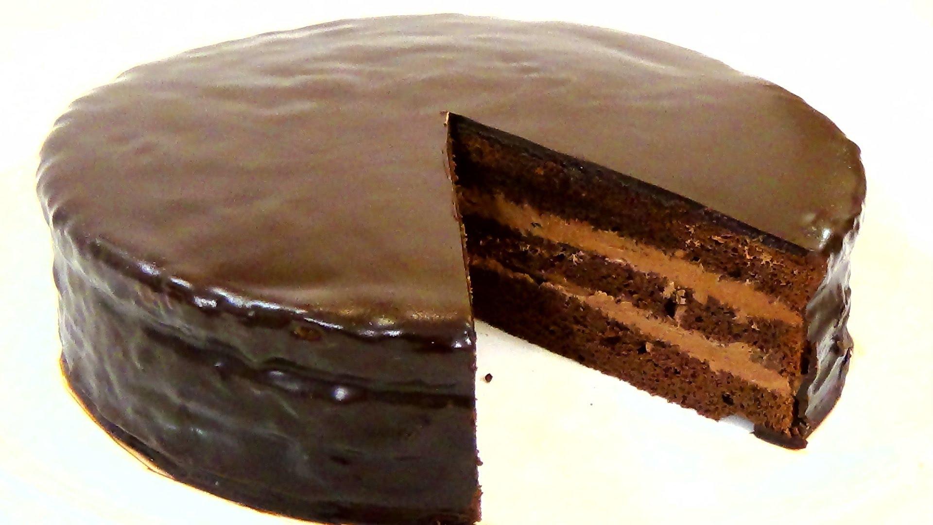 Фото рецепт торт прага 2