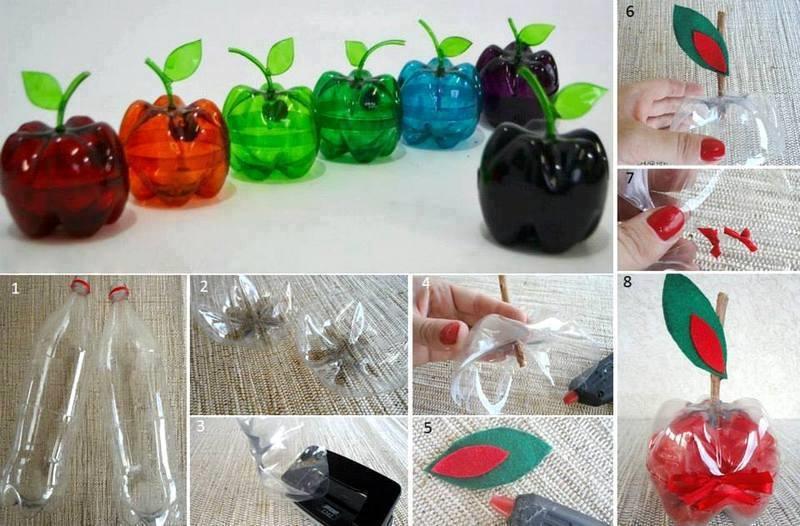 Поделка из пластмассовых бутылок своими руками