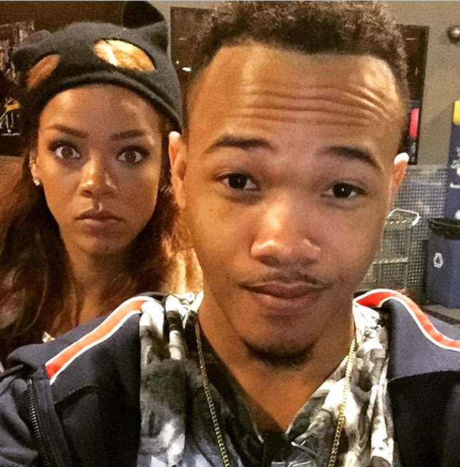 8.JUNE.2015 RIHANNA AND HER BROTHER IN THIS CELEBRITY TWITTER PICTURE POSTED VIA INSTAGRAM! BYLINE MUST READ: SUPPLIED BY XPOSUREPHOTOS.COM *Xposure Photos does not claim any Copyright or License in the attached material. Any downloading fees charged by Xposure are for Xposure's services only, and do not, nor are they intended to, convey to the user any Copyright or License in the material. By publishing this material , the user expressly agrees to indemnify and to hold Xposure harmless from any claims, demands, or causes of action arising out of or connected in any way with user's publication of the material* **UK CLIENTS MUST CALL PRIOR TO TV OR ONLINE USAGE PLEASE TELEPHONE  +44 208 344 2007**