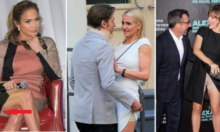 Заглянем под юбки знаменитостей Они и правда носят это