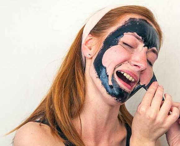желатин маска для лица от черных точек
