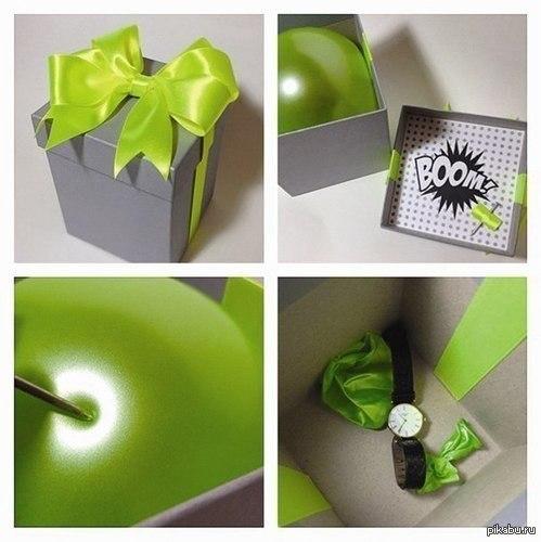 Как упаковать большой подарок Маленький подарок упаковать в большую коробку