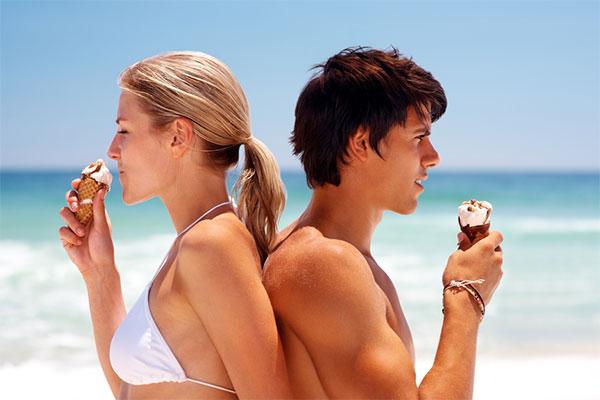Лед и мороженое в жару — вред или польза?