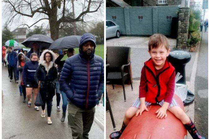 Почти 5 000 человек выстроились в очередь под дождём, чтобы стать донорами для 5-летнего мальчика