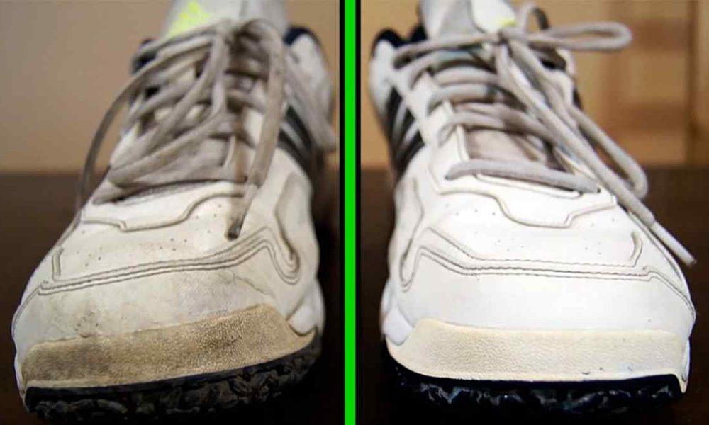 Как вернуть кроссовкам идеальную белизну?