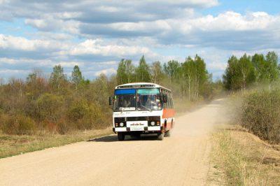 Рейсовый автобус уехал только после того, как все пассажиры купили мандарины