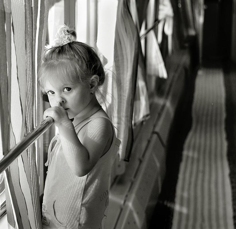 Родители забыли ребёнка в вагоне поезда