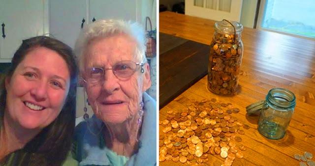 Сказала умирающей бабушке: «Когда ты будешь на небесах, пришли мне много денег». Бабушка выполнила просьбу внучки